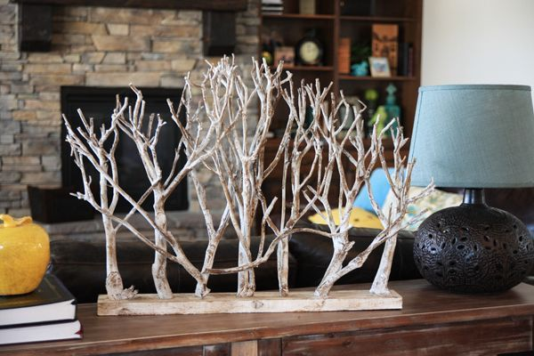 DIY branch art 4 - 21 DIY Branch Art for Your Home