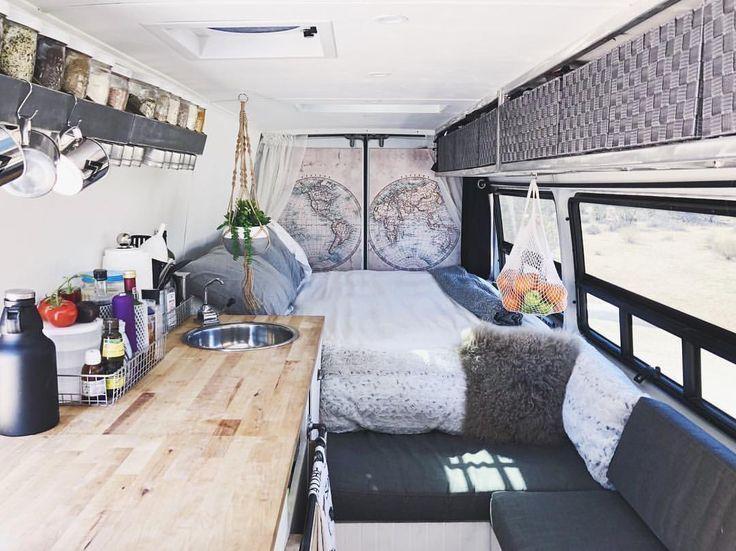 10Camper Van Remodels  - 20 DIY Camper Van Remodel Inspirations