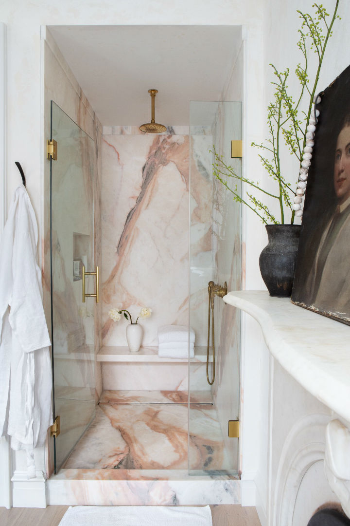 12 awesome marble in shower design ideas - 12 Awesome Marble in Shower Design Ideas