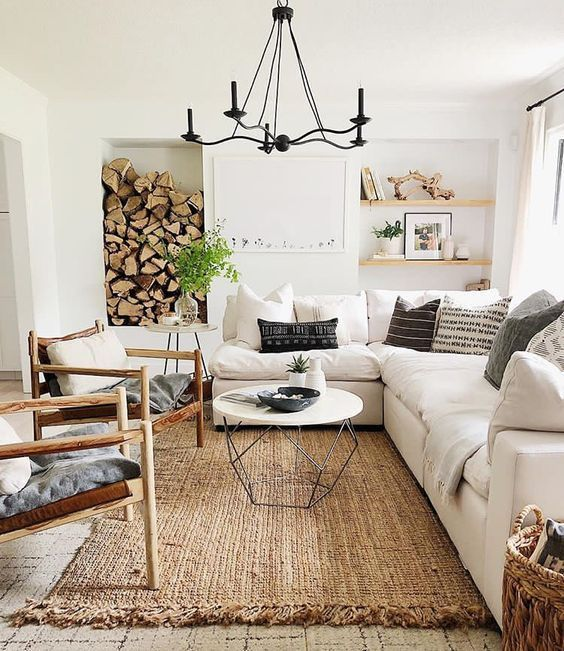 update living room decor idea on a budget 4