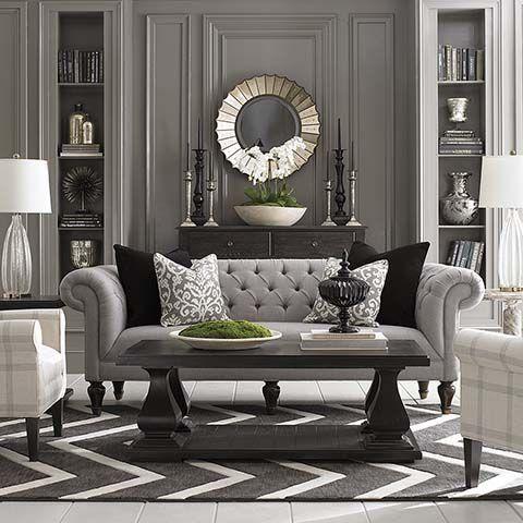 Neo-Classic living room
