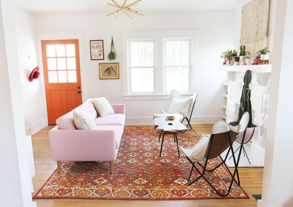 Chic Living Room Makeover Fit For A Country Star 6