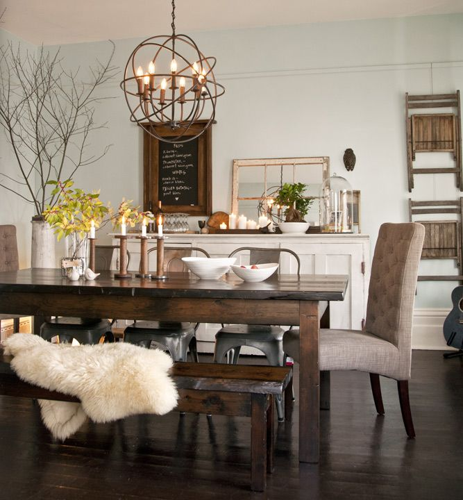 1553969362 917 12 rustic dining room ideas - 12 Rustic Dining Room Ideas