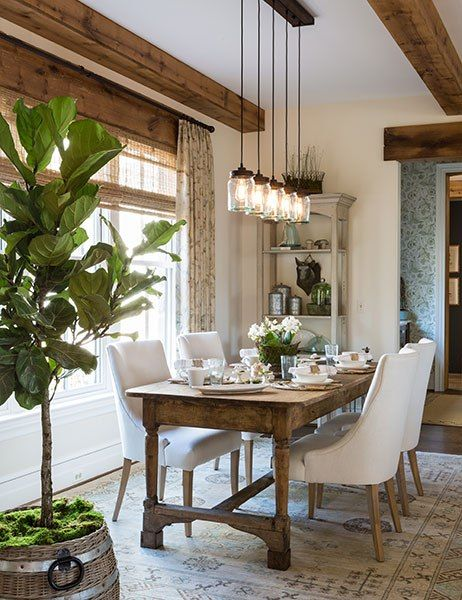 1553969363 845 12 rustic dining room ideas - 12 Rustic Dining Room Ideas