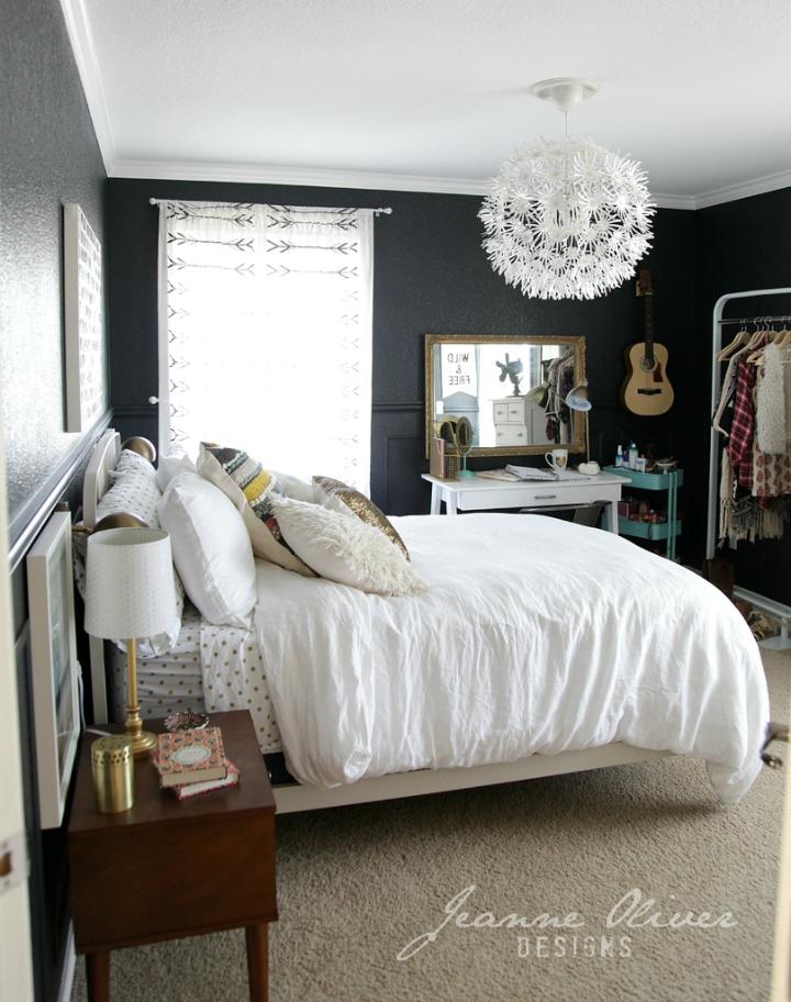 Amazing Teen Girl's Bedroom Makeover 7