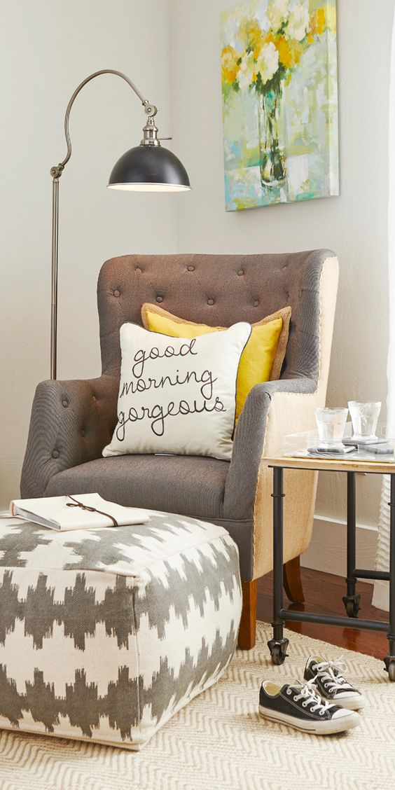 Refashion your chairs with pillows