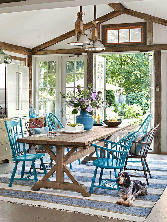1553972844 165 mix and match furniture 40 dining room ideas - Mix And Match Furniture: 40 Dining Room Ideas