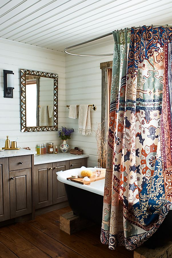 1553973207 305 20 bohemian bathroom ideas - 20 Bohemian Bathroom Ideas
