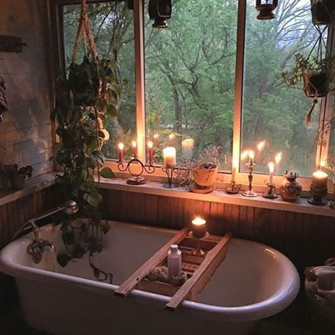 1553973208 236 20 bohemian bathroom ideas - 20 Bohemian Bathroom Ideas