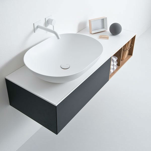 Elegant Modern Washbasin Designed With a Unique and Original Line 4