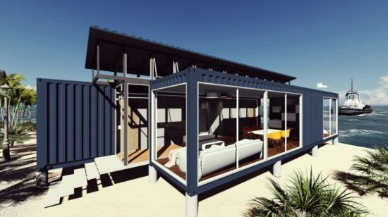 19Container Homes  - 20+ Shipping Container Home Designs Ideas