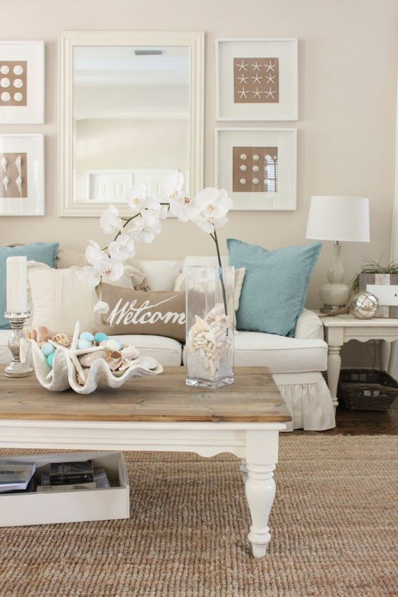 26 coastal living room ideas give your living room an awe inspiring look - 26 Coastal Living Room Ideas: Give Your Living Room An Awe-inspiring Look