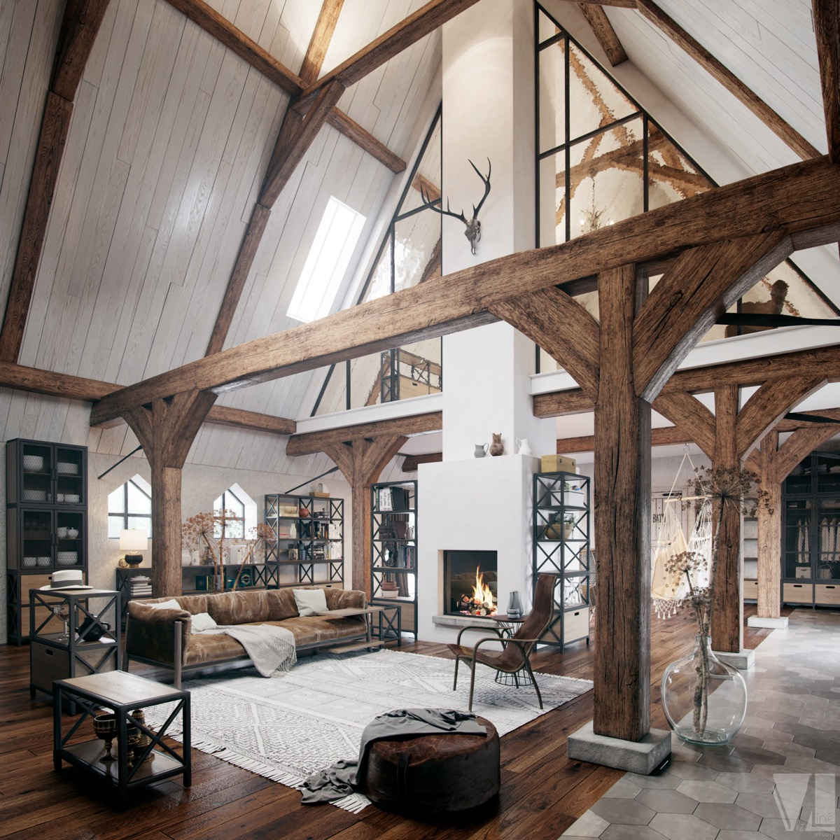 53 Cool Living Rooms With Irresistible Modern Appeal Decorpion