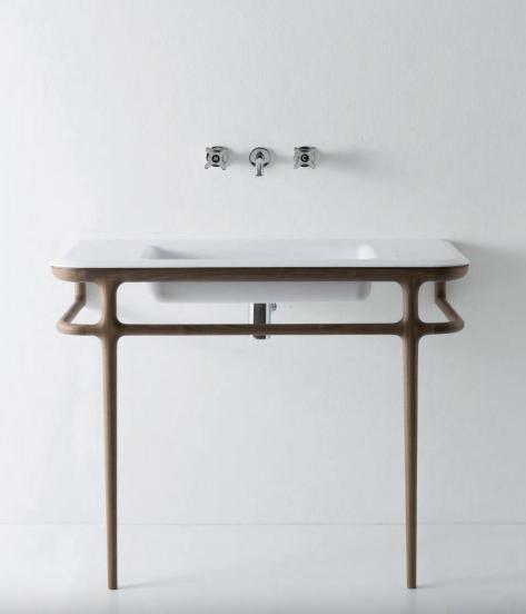 bathroom vanity that looks to the past to explore the future - Bathroom Vanity That Looks To The Past To Explore The Future