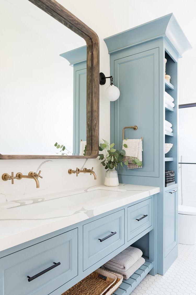 blue bathroom - 12 Blue Bathroom Ideas You'll Love