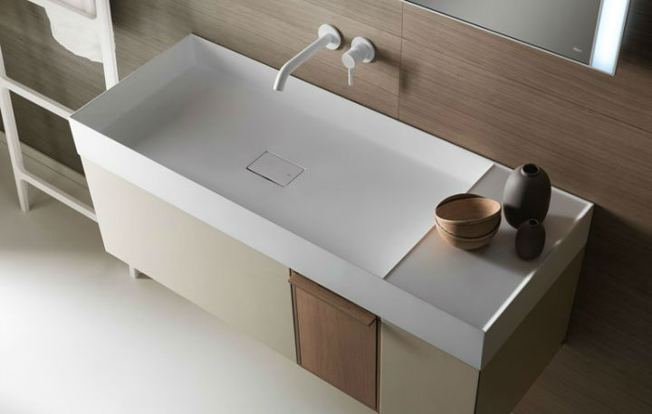 elegant modern washbasin designed with a unique and original line - Elegant Modern Washbasin Designed With a Unique and Original Line