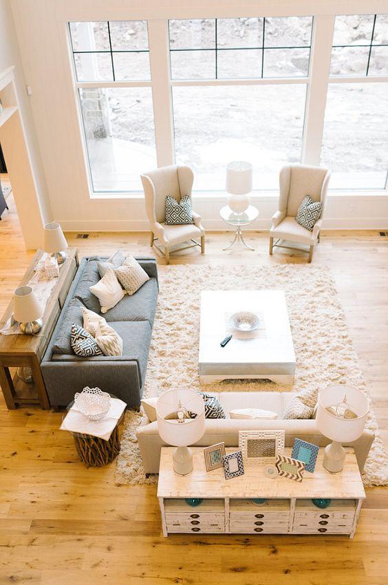 large living room design idea
