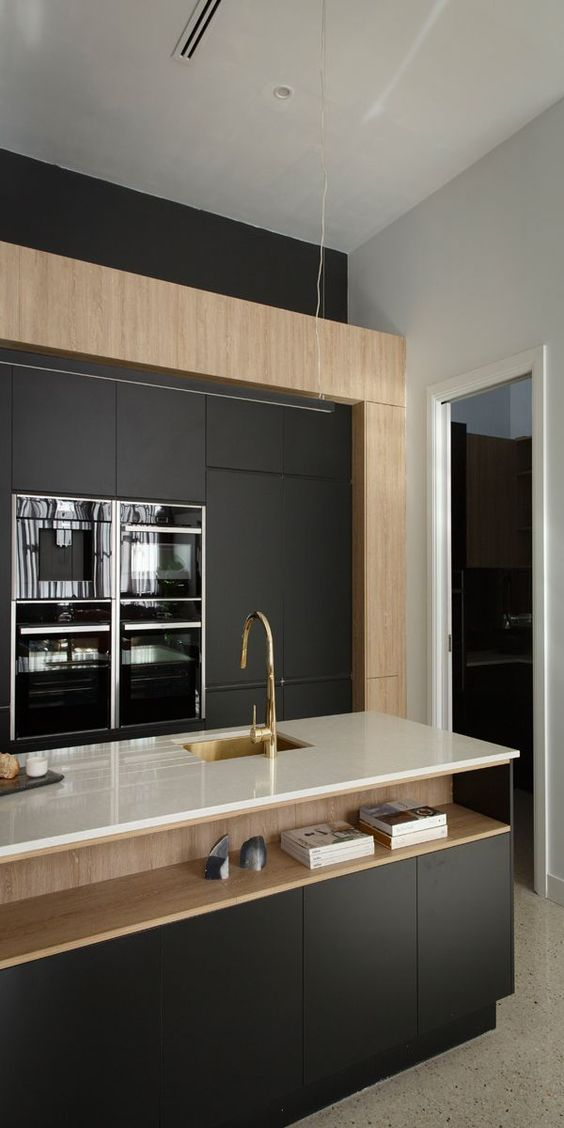 industrial meets deco in this kitchen design - Industrial Meets Deco In This Kitchen Design