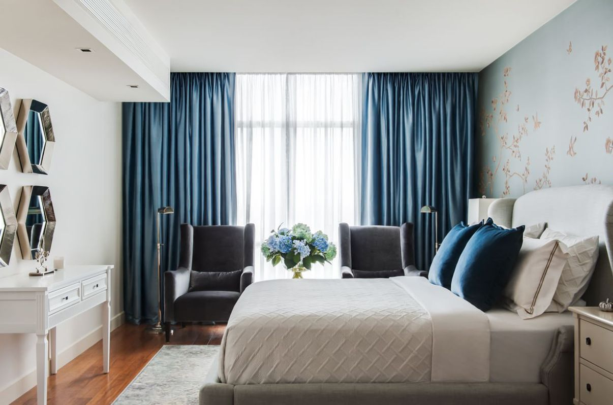 1556710909 441 make your windows the star of the room with these bedroom curtain ideas - Make your Windows the Star of the Room With These Bedroom Curtain Ideas