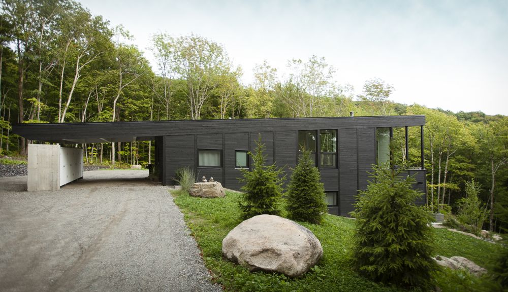 1556785098 151 houses with black cladding that are in harmony with their surroundings - Houses With Black Cladding That Are in Harmony With their Surroundings