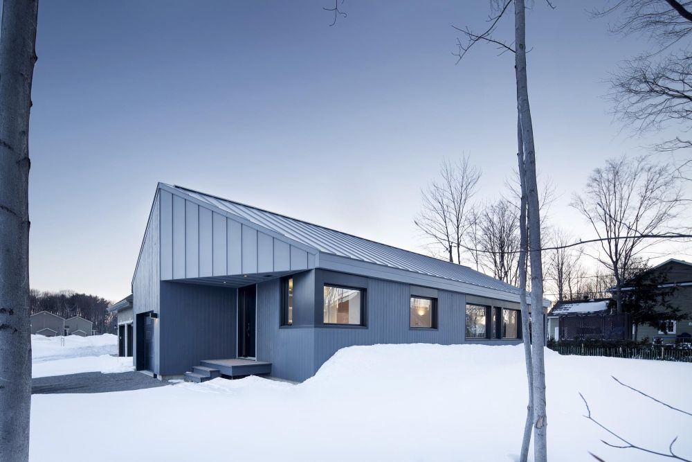 1556785102 629 houses with black cladding that are in harmony with their surroundings - Houses With Black Cladding That Are in Harmony With their Surroundings