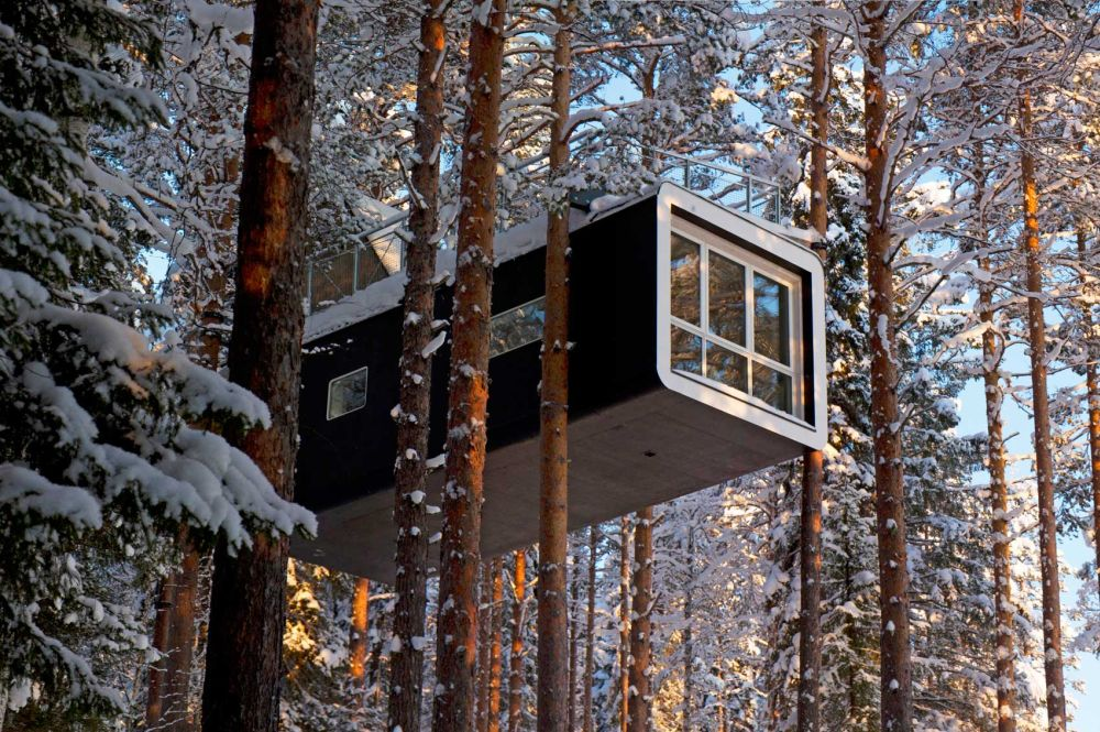 1556876277 539 15 amazing treehouse rentals take you off the grid in style - 15 Amazing Treehouse Rentals Take You Off The Grid In Style