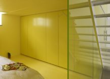 1557230088 797 remodeled loft inside old school building in brussels with yellow panache - Remodeled Loft Inside Old School Building in Brussels with Yellow Panache!