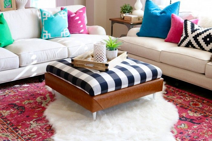 1557235066 781 15 cool ways to tackle the diy ottoman challenge - 15 Cool Ways To Tackle The DIY Ottoman Challenge