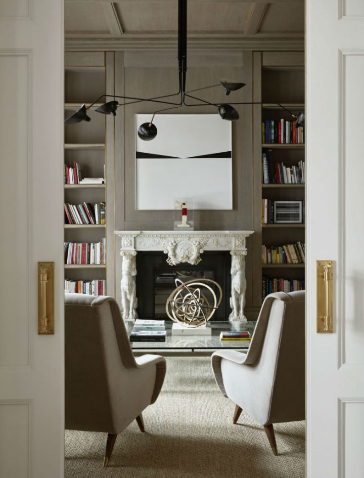 Between Contemporary and Classical Interior 17
