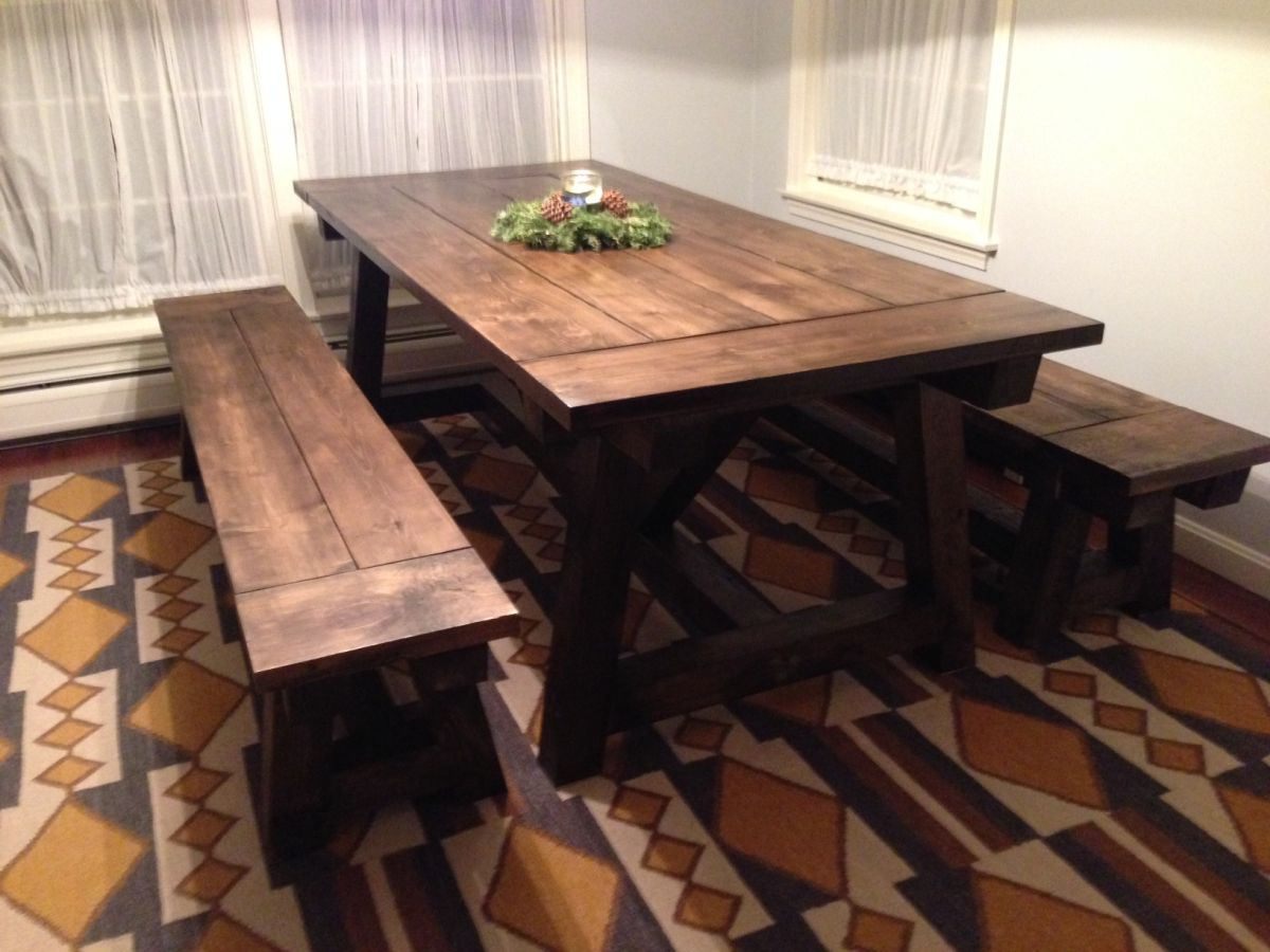 1557928868 594 diy farmhouse kitchen table projects for beginners - DIY Farmhouse Kitchen Table Projects For Beginners