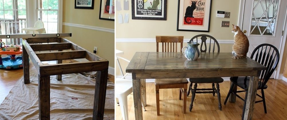 1557928869 208 diy farmhouse kitchen table projects for beginners - DIY Farmhouse Kitchen Table Projects For Beginners