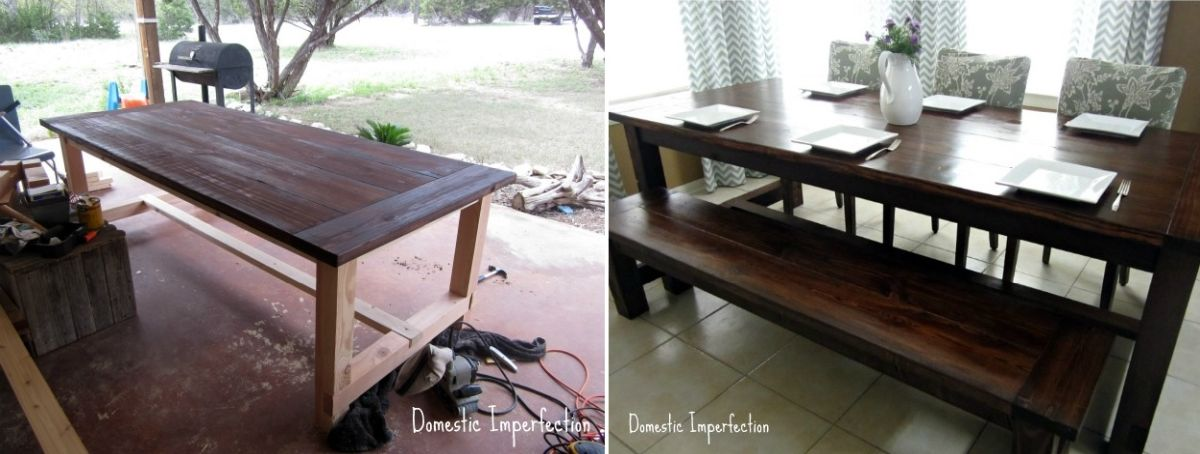1557928869 222 diy farmhouse kitchen table projects for beginners - DIY Farmhouse Kitchen Table Projects For Beginners