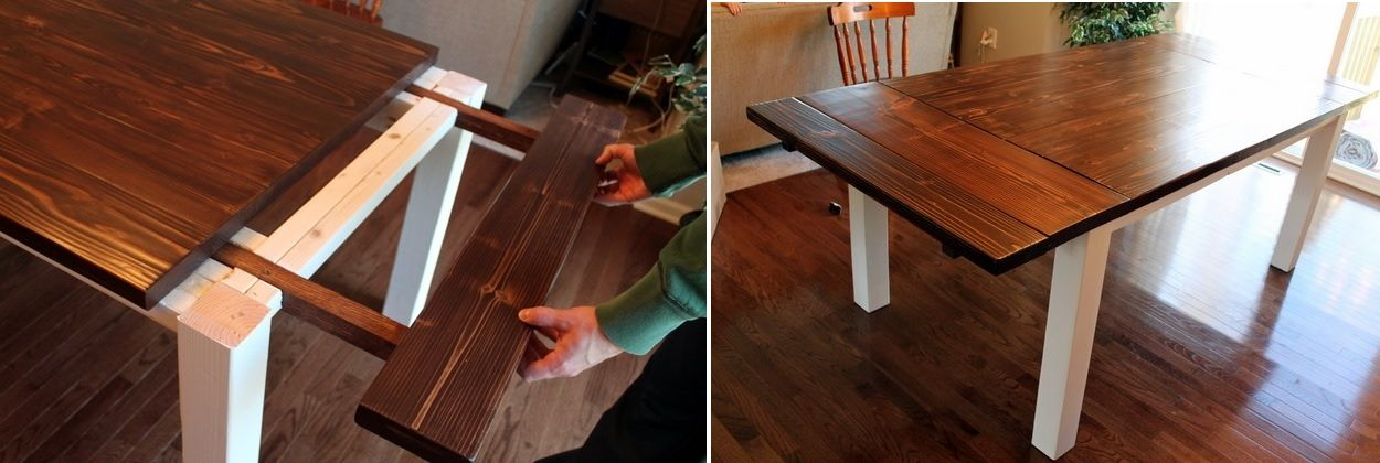 1557928869 309 diy farmhouse kitchen table projects for beginners - DIY Farmhouse Kitchen Table Projects For Beginners