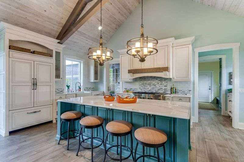 1558357305 352 kitchen island and home bar ideas inspired by gorgeous projects - Kitchen Island And Home Bar Ideas Inspired By Gorgeous Projects