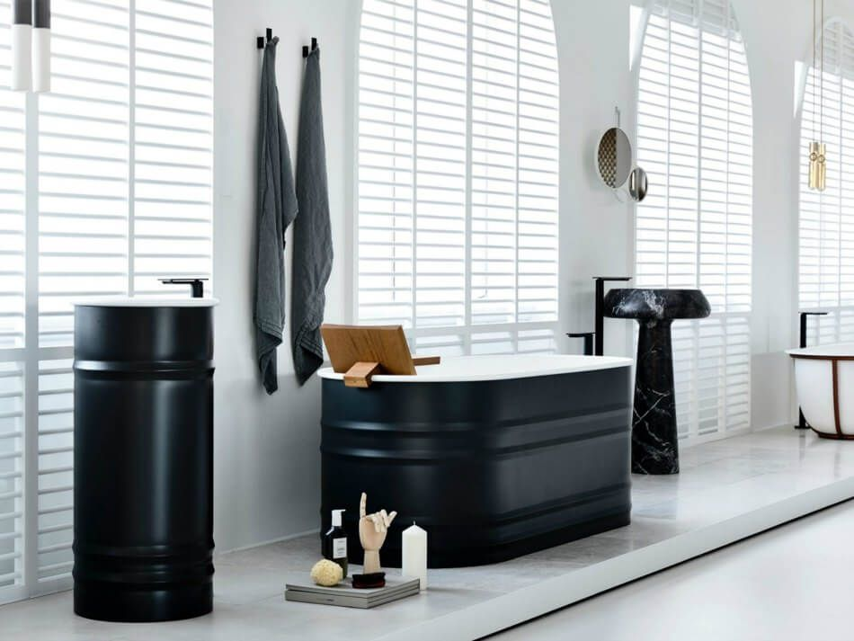 1558953965 965 black and white bathroom designs that show simple can also be interesting - Black and White Bathroom Designs That Show Simple Can Also Be Interesting