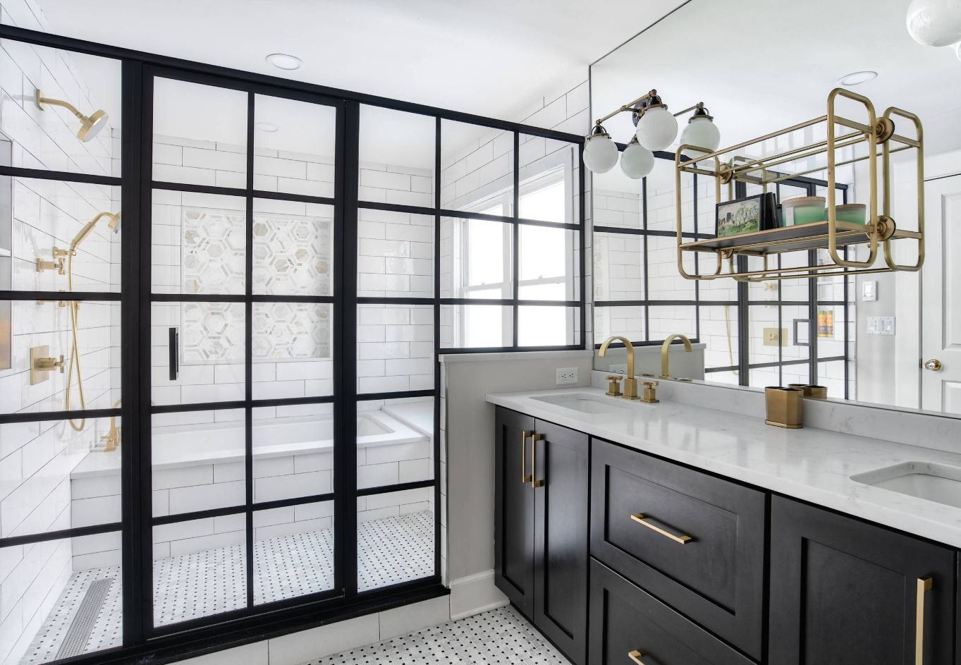 1558953966 788 black and white bathroom designs that show simple can also be interesting - Black and White Bathroom Designs That Show Simple Can Also Be Interesting