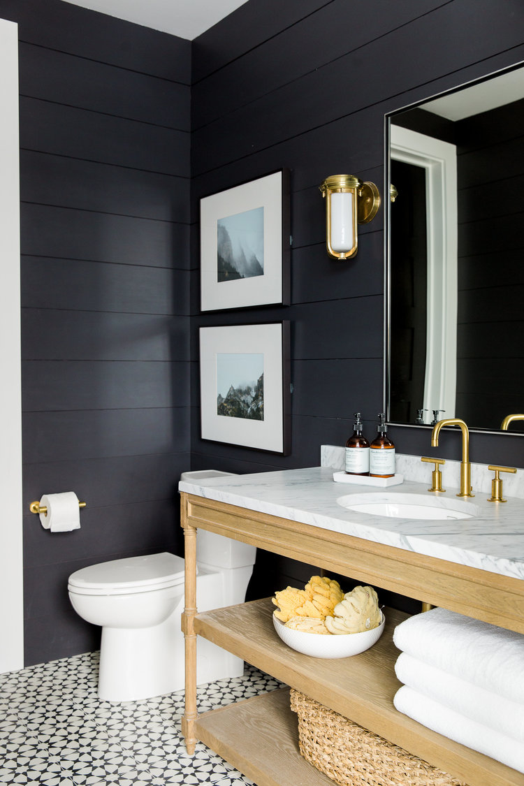 1558953967 817 black and white bathroom designs that show simple can also be interesting - Black and White Bathroom Designs That Show Simple Can Also Be Interesting