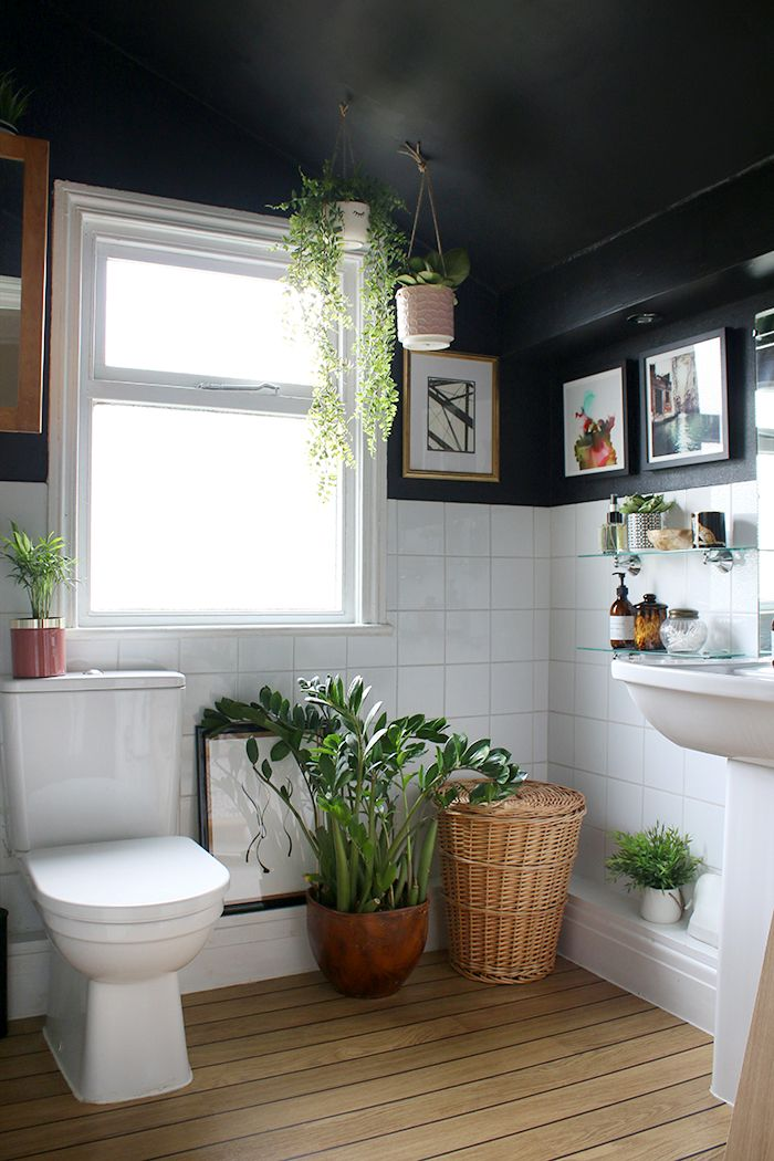 1558953967 907 black and white bathroom designs that show simple can also be interesting - Black and White Bathroom Designs That Show Simple Can Also Be Interesting