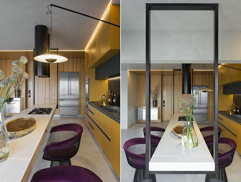 1559149558 697 amazing hanging island shapes this awesome penthouse kitchen in sao paulo - Amazing Hanging Island Shapes This Awesome Penthouse Kitchen in Sao Paulo