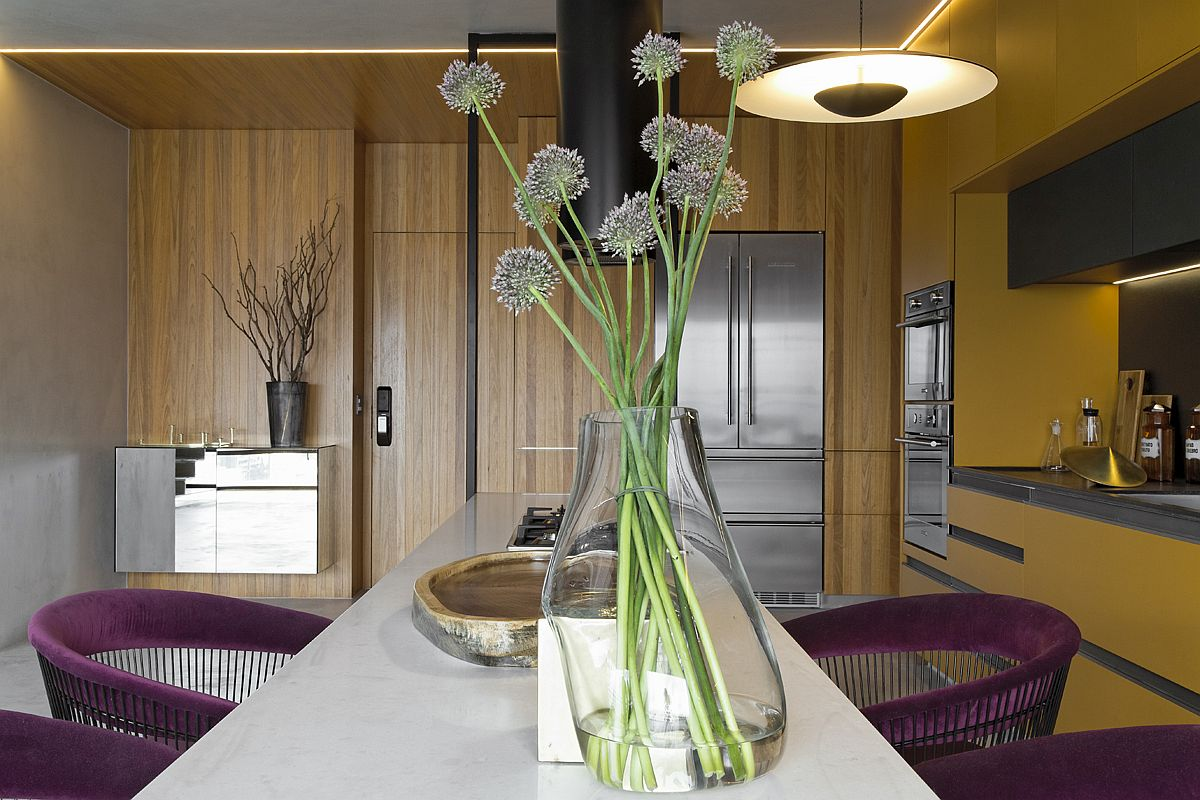 1559149558 960 amazing hanging island shapes this awesome penthouse kitchen in sao paulo - Amazing Hanging Island Shapes This Awesome Penthouse Kitchen in Sao Paulo