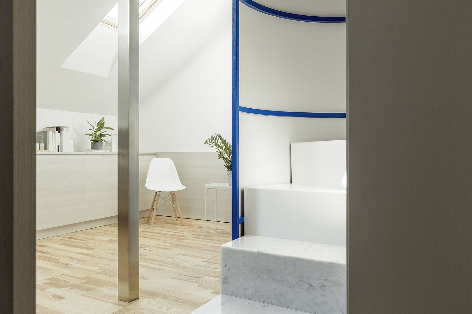 1559229132 72 compact white and wood apartment in milan maximizes space in style - Compact White and Wood Apartment in Milan Maximizes Space in Style