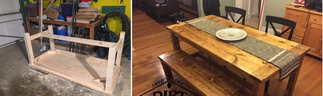 diy farmhouse kitchen table projects for beginners - DIY Farmhouse Kitchen Table Projects For Beginners