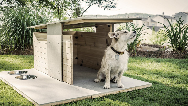 1559810074 358 cool dog houses with modern designs and fancy features - Cool Dog Houses With Modern Designs And Fancy Features