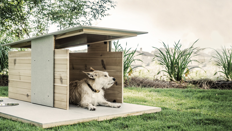 1559810074 479 cool dog houses with modern designs and fancy features - Cool Dog Houses With Modern Designs And Fancy Features