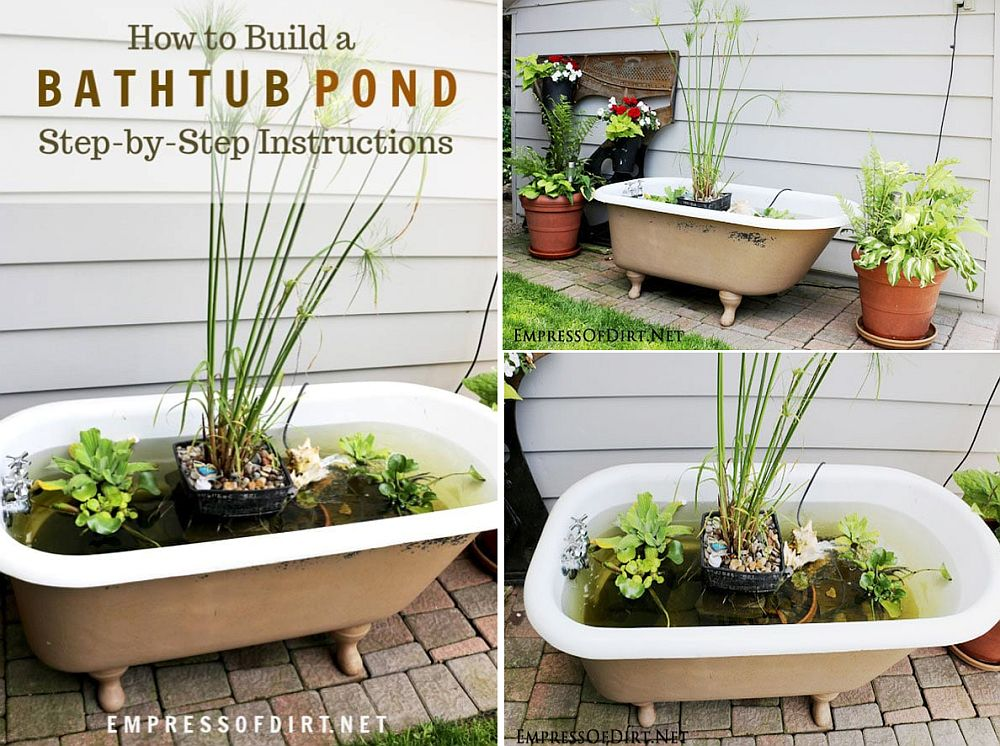 1559894564 51 25 cheap diy ponds to bring life to your garden - 25 Cheap DIY Ponds to Bring Life to Your Garden