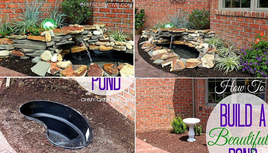 1559894567 949 25 cheap diy ponds to bring life to your garden - 25 Cheap DIY Ponds to Bring Life to Your Garden