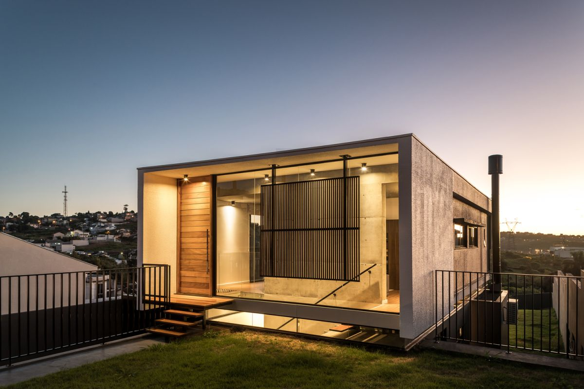 1560134363 125 small modern house takes advantage of uneven topography and a special backyard - Small Modern House Takes Advantage Of Uneven Topography And A Special Backyard