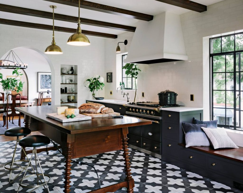 1560150709 30 the most popular kitchen tile flooring options are gorgeous and durable - The Most Popular Kitchen Tile Flooring Options Are Gorgeous and Durable