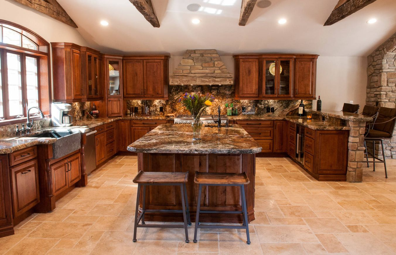 1560150709 389 the most popular kitchen tile flooring options are gorgeous and durable - The Most Popular Kitchen Tile Flooring Options Are Gorgeous and Durable