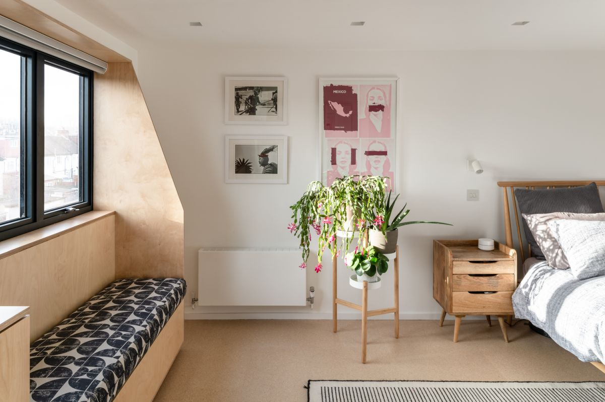 1560220597 573 mid century london house gets transformed into a modern and vibrant apartment - Mid-Century London House Gets Transformed Into A Modern And Vibrant Apartment